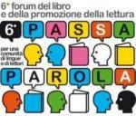 Logo del sesto forum del libro e della promozione della lettura