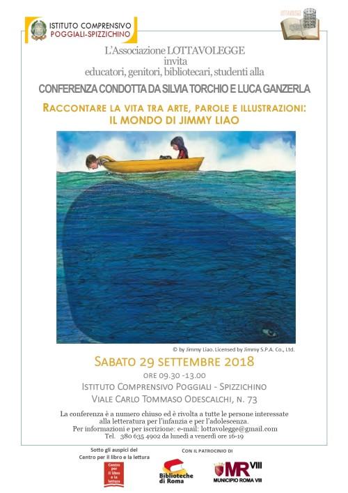 Locandina conferenza J.L. sett 2018